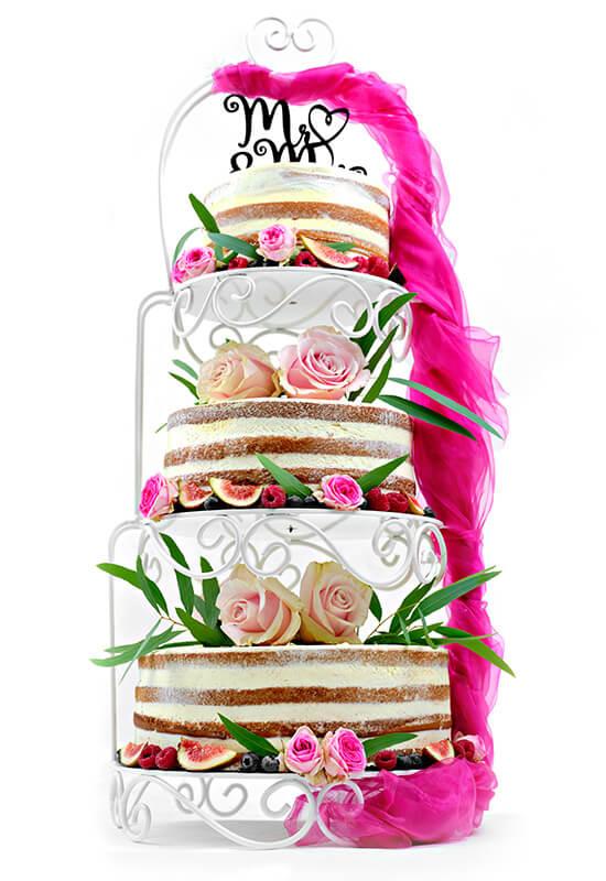 "Hochzeitstorte ""Naked Cake"""