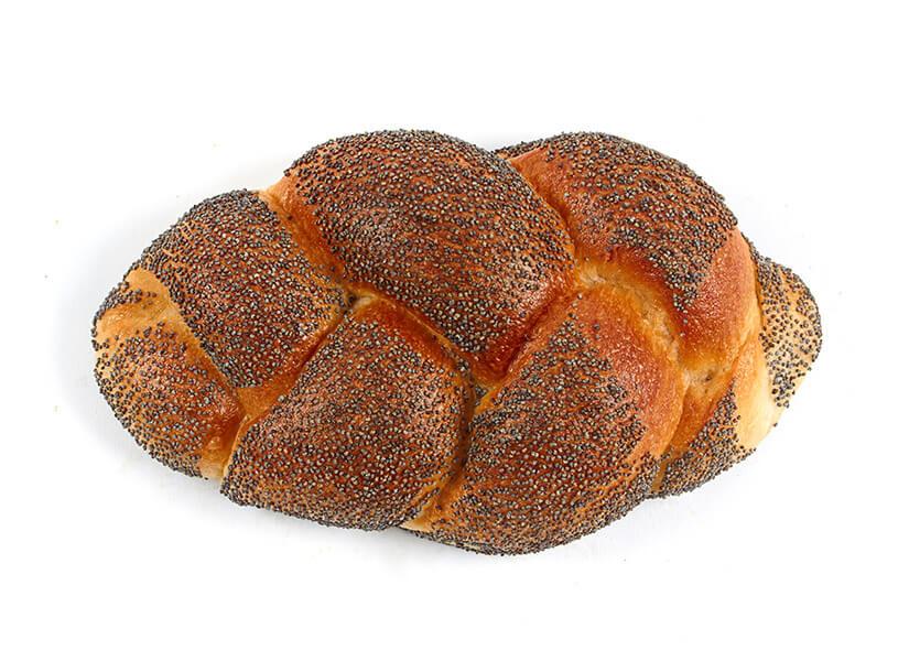Kuchenbrötchenmohnzopf