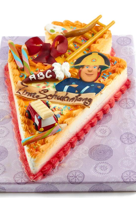 """Torte zum Schulanfang """"Feuerwehrmann Sam"""""""