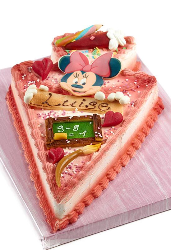 """Torte zum Schulanfang """"Minnie Mouse"""""""