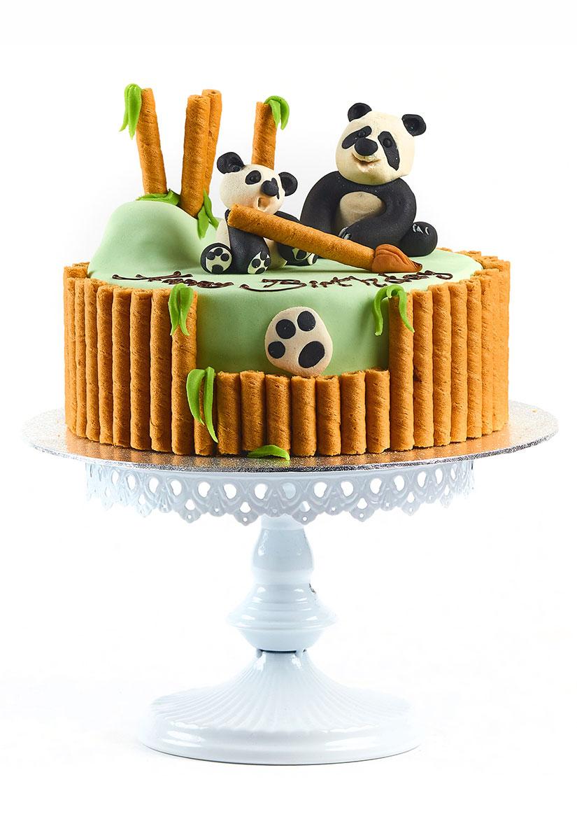 """Geburtstagstorte """"Pandabär"""""""