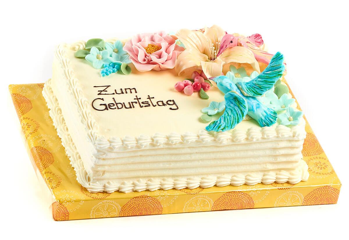 """Geburtstagstorte """"Blütenmeer"""""""