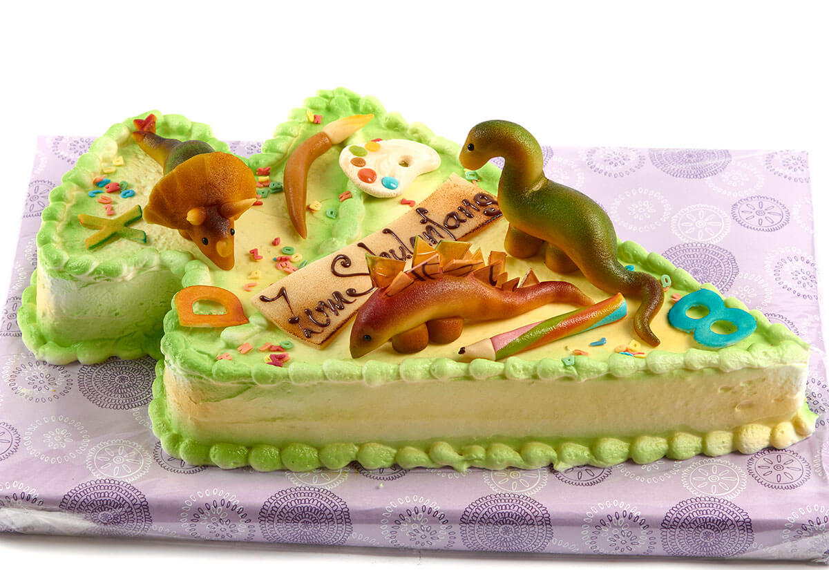 "Torte zum Schulanfang ""Dinowelt"""