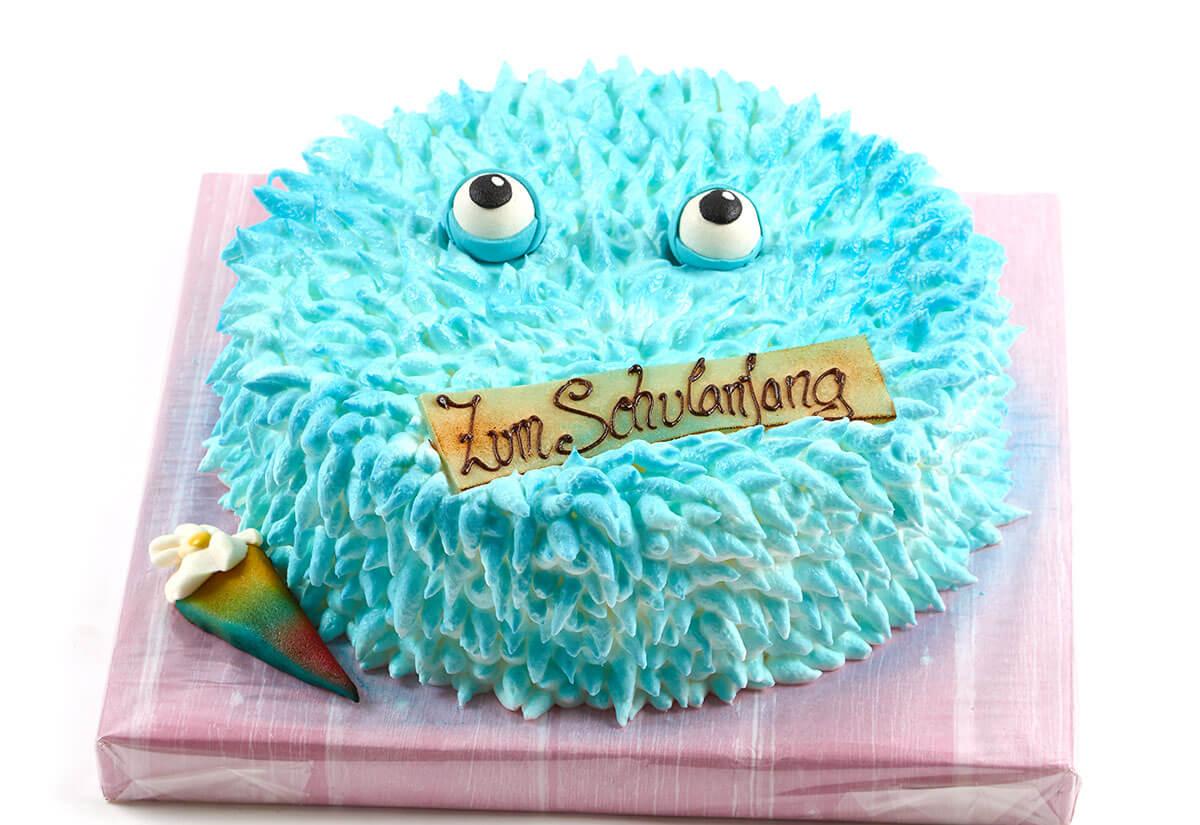 """Torte zum Schulanfang """"Monster"""""""
