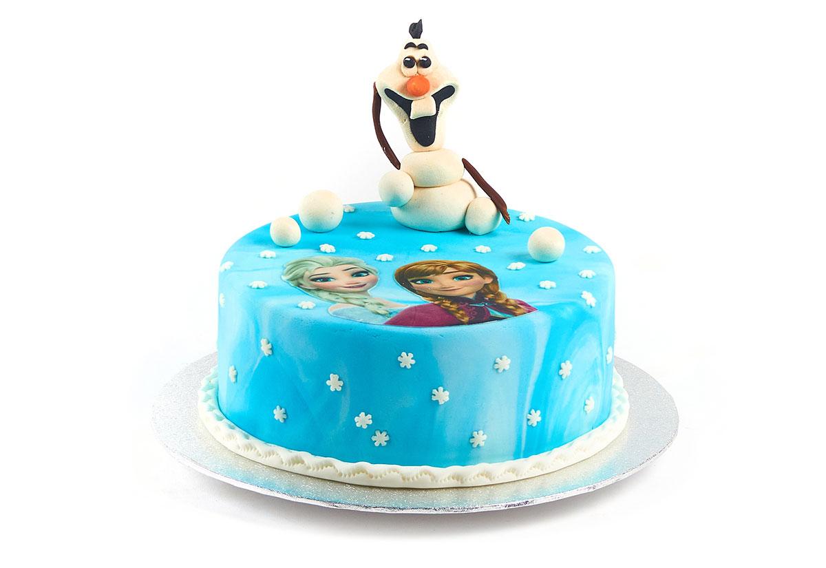 """Geburtstagstorte """"Olaf, der Schneemann"""""""