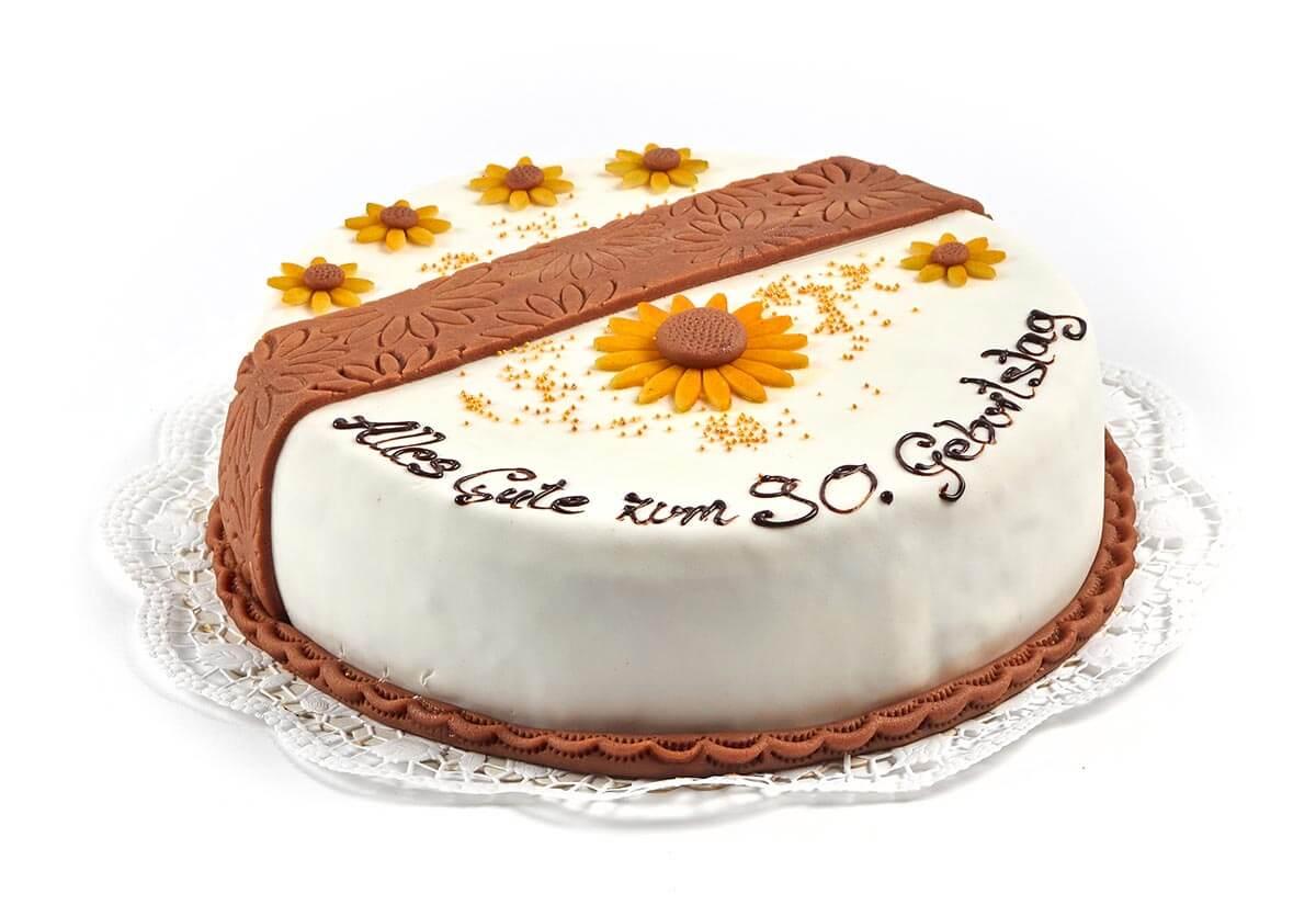 Torte zum 90. Geburtstag