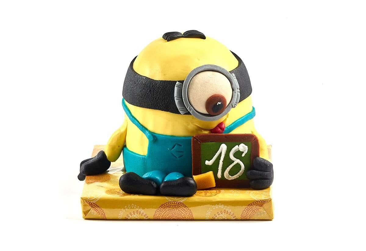 Geburtstagstorte Minion