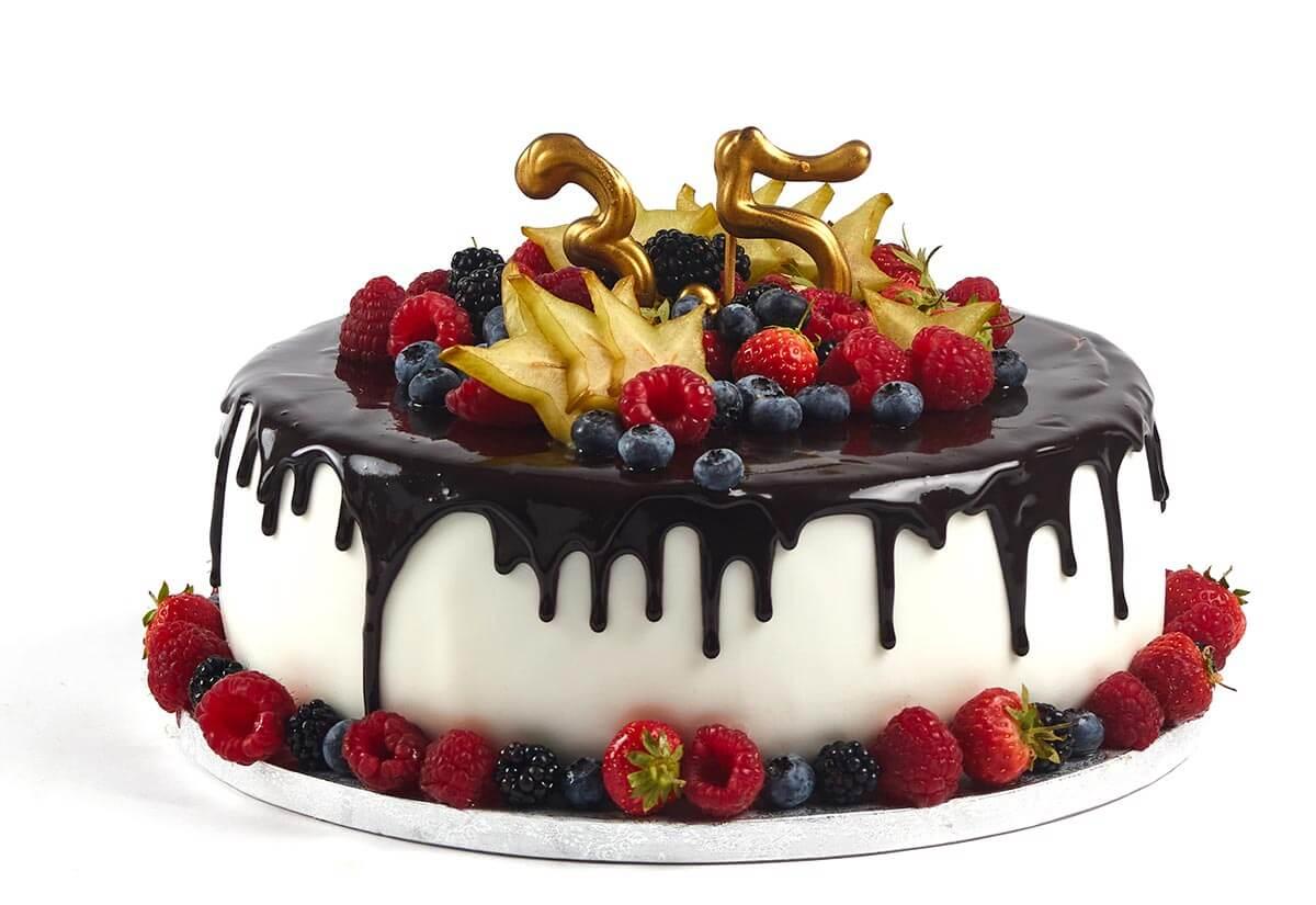 Torte zum 35. Geburtstag