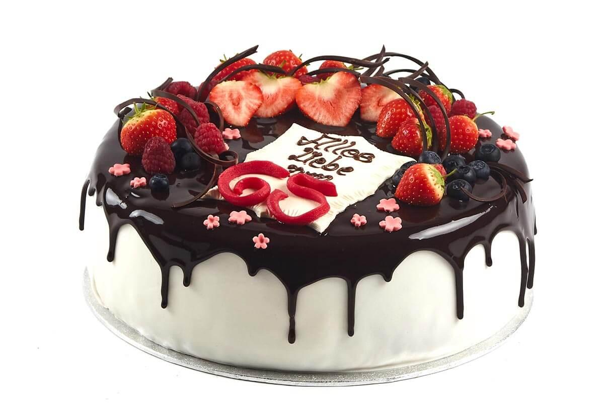 Torte zum 65. Geburtstag