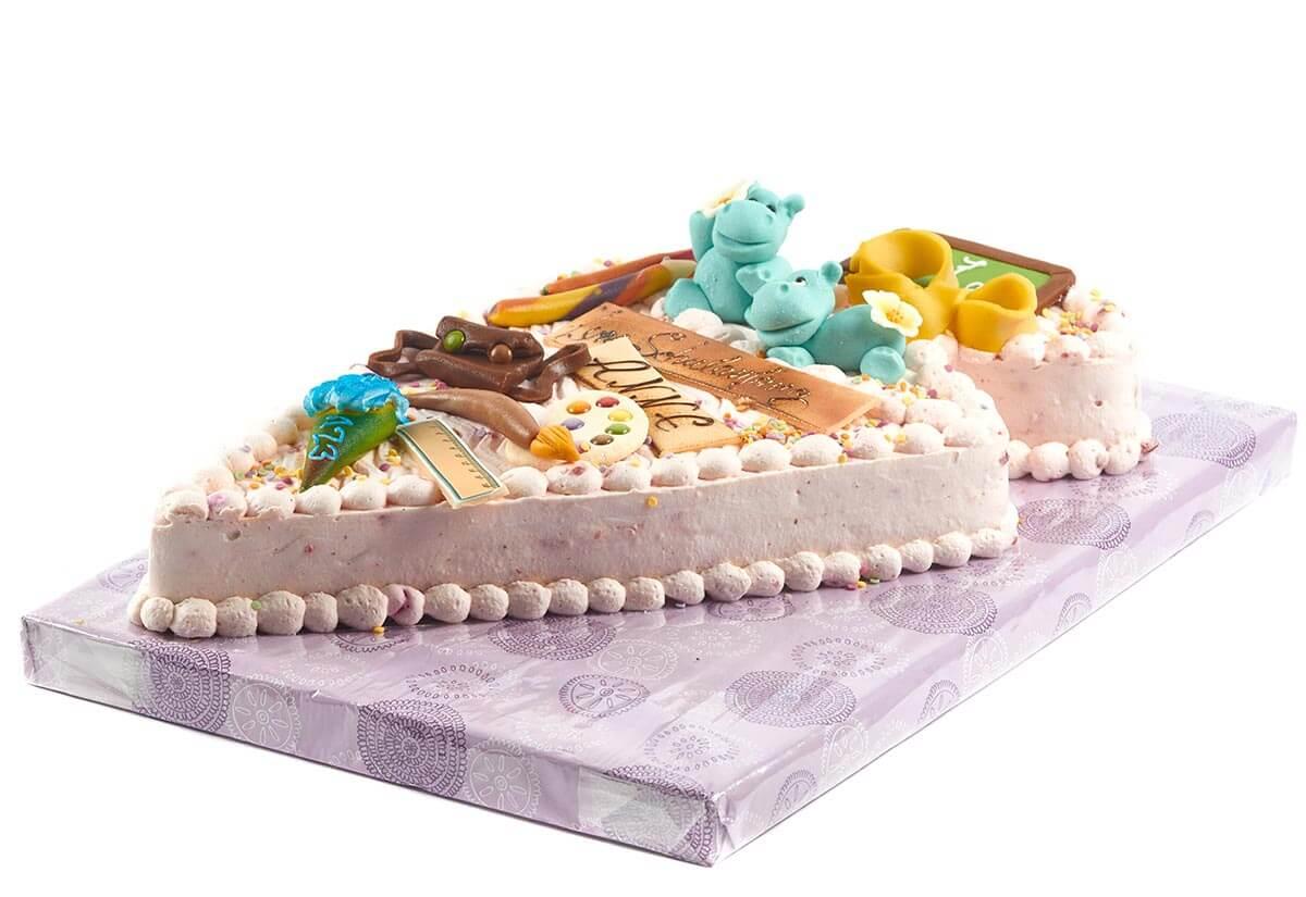 """Torte zum Schulanfang """"Hippo"""""""
